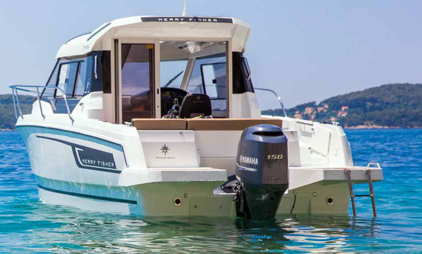 Now agents for Merry Fisher boats by Jeanneau